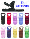 Plastic Clips For Name Badge, Nametag, ID Tag or Baby Pacifier Straps