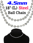 Large Ball Chain Necklaces