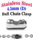 Stainless Ball Chain Connectors or Clasps - Bulk Pack