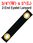 "5"" Brass Eyeleted Short Strap For Easy Fastening"