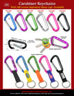 Premium Carabiner Keychains With Fashion Color Selections CB-3060/Per-Piece