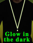 Glow In The Dark Cell Phone Straps: Cellular Neck Lanyards with Detachable Clasps