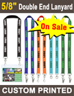 "5/8"" Custom Printed Event Lanyards With Two Ends LY-058-DA/Per-Piece"