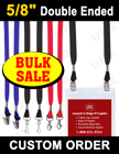 "5/8"" Economic Lanyards - Events Special - On Bulk Sale! LY-404ES-DA/Per-Piece"