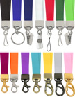"5/8"" Ez-Adjustable Heavy Duty Plain Color Neck Lanyards With Adjustable Length Capability LY-404HD-Ez/Per-Piece"