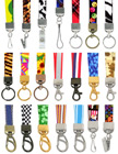 "5/8"" Ez-Adjustable Art Printed Neck Lanyards With Adjustable Length Capability LY-P-404HD-Ez/Per-Piece"