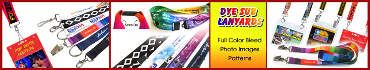 Dye sub custom printed logo lanyard wholesale supplies