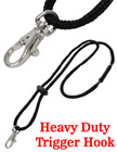Heavy-Duty, Round Cord Safety Lanyards with Trigger Hooks LY-411-HM-230/Per-Piece