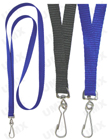 "LY-402HD-HK 3/8"" Polyester Heavy Duty Plain Lanyards with Swivel Hooks LY-402HD-HK/Per-Piece"