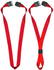 "5/8"" Safety Neck Ring Plain Color Lanyards - Safety Breakaway Neck Straps LY-NR-503HD/Per-Piece"
