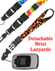 "Quick Release Wrist Lanyards: 5/8"" Art Printed Quick Release Wrist Straps"