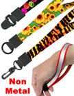 "Printed Wrist Lanyards: 5/8"" Art Printed Wrist Straps With Non-Metal Hardware LY-P-UL-WS/Per-Piece"