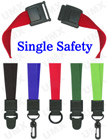 "5/8"" Security Scan Free Safety Lanyards Make Your Security Scan Safe"