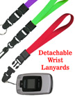 "Detachable Wrist Lanyards: 5/8"" Plain Color Detachable Wrist Straps"