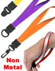 "Plastic Wrist Lanyards: 5/8"" Non-Metal Wrist Strap Attachment Models"