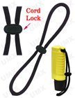 "1/4"" Wrist Strap with Adjustable Cord Lock"