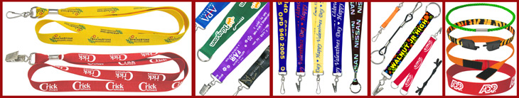 Custom Lanyards: Printed, Woven Logos, Custom Sized, Designer Made, Colors or Hardware Attachments