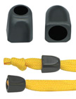 "Retangular Tube Plastic Cord Ends: Cord End Caps with 1/4""(D, Top Hole) x 5/16""(D, Bottom Hole) P-138/Per-Piece"