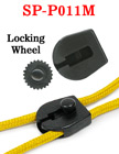 Drawstring Cord Locks With Locking Wheels For Pull String Bags