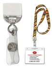 Plastic Lanyard Badge Holder Strap Adaptor Hardware Attachment