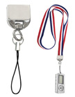 Flash Drive, USB Memory, Cell Phone & Badge Holder Lanyard Adaptors with Universal Strings EZ-CP1/Per-Piece