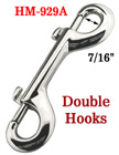 "4"" Two End Rigid Bolt Snaps: Heavy Duty Non-Swivel Metal Snap Hooks"