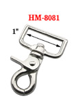 "1"" Rectangle Swivel Lobster Claw Snap Hooks: For Flat Rope"