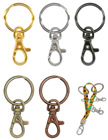 Pre-Assemble Keychains With Tirgger Hooks and Key Chain Ring Holders