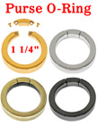 Secured Gate Rings: For Purse Straps, Keychain Straps, Key Ring Straps