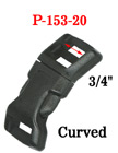"3/4"" Curved Side Release Plastic Buckles: For Safety Vest or Clothing"