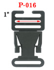 "1"" Ladder Lock Side Release Plastic Buckles: For Adjustable Length Fastening Straps P-016/Per-Piece"