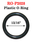 "13/16"" Great Seller Plastic O-Ring: For Apparel, Lanyards and Crafts Making"