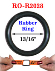 "13/16"" Great Seller Rubber O-Ring: For Apparel, Lanyards and Crafts Making RO-R2028/Per-Piece"