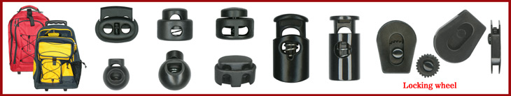 Cord Lock: Plastic Lock, Toggle, Cord Stopper, Cord Fastener - Wholesale Low Price - Manufacturer Factory Direct