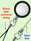 Heavy Duty Steel Cable Wire Retractable Reels Heavy Duty Universal Fastener Strings