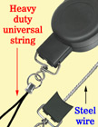 Heavy Duty Retractable Reels: For PDA, GPS, Handheld Scanners, Meters