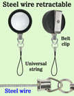 Durable Retractable Mobile Phone String Reels