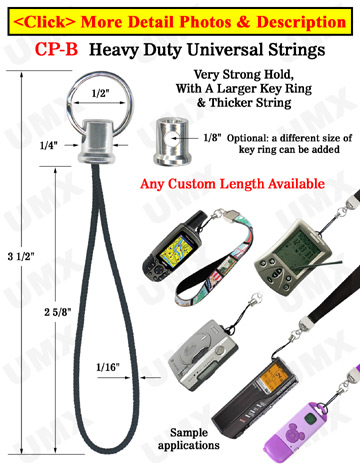Heavy Duty PDA, Handheld GPS, USB, Camera, Meters & Cell Phone Accessory Strings