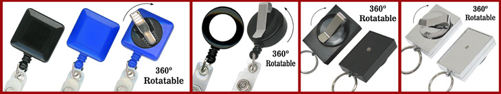 Rotatable Retractable Reels